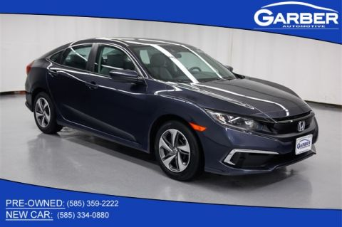 New 2019 Honda Civic LX FWD 4D Sedan