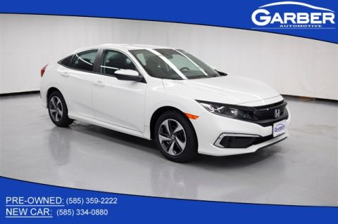 New 2020 Honda Civic LX FWD 4D Sedan