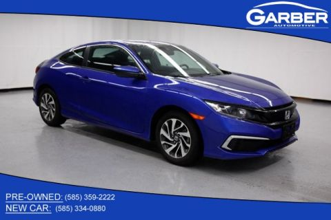 Certified Pre-Owned 2019 Honda Civic LX FWD 2D Coupe