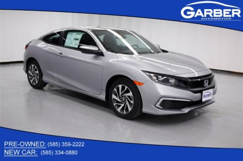 New 2019 Honda Civic LX FWD 2D Coupe