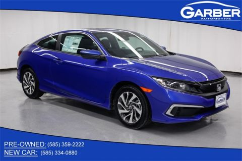 New 2020 Honda Civic LX FWD 2D Coupe