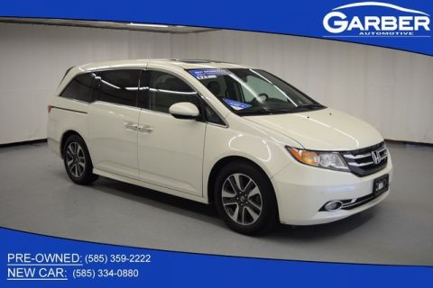 Pre-Owned 2017 Honda Odyssey Touring Elite With Navigation