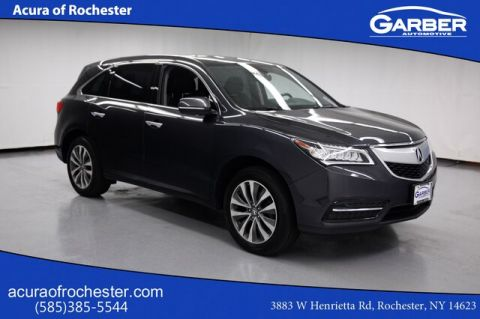 Pre-Owned 2014 Acura MDX 3.5L Technology Package With Navigation & AWD