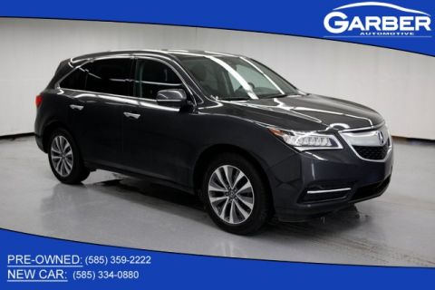 Pre-Owned 2016 Acura MDX 3.5L With Navigation & AWD