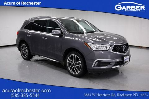 Certified Pre-Owned 2017 Acura MDX 3.5L w/Advance Package With Navigation & AWD