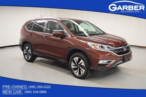 Pre-Owned 2016 Honda CR-V Touring With Navigation & AWD