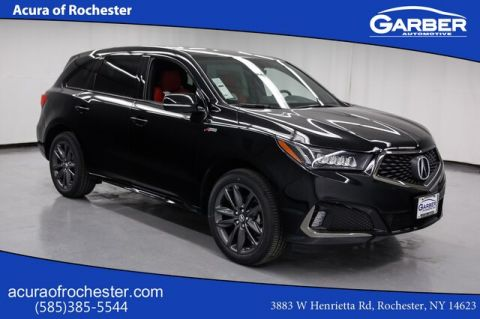New 2019 Acura MDX w/Technology/A-Spec Pkg With Navigation & AWD