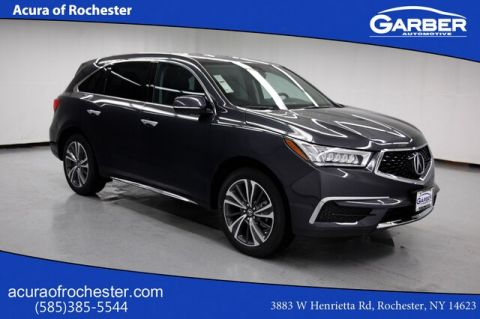 New 2019 Acura MDX 3.5L Tech Pkg With Navigation & AWD