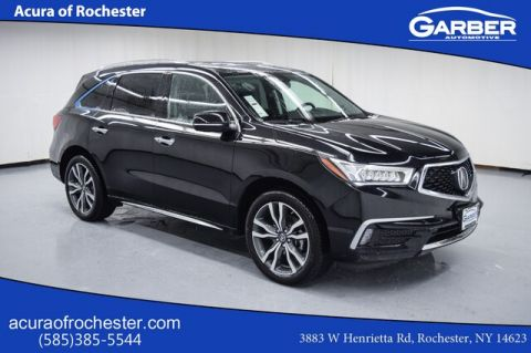 New 2019 Acura MDX 3.5L Advance & Entertainment Pkgs With Navigation & AWD