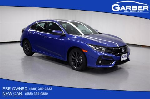 New 2020 Honda Civic EX FWD 4D Hatchback