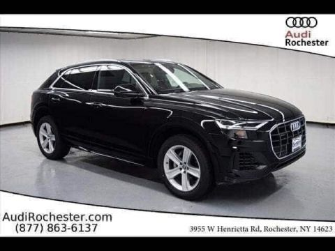 New 2019 Audi Q8 3.0T Premium With Navigation & AWD