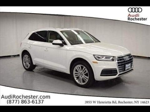 New 2019 Audi Q5 2.0T Premium With Navigation & AWD