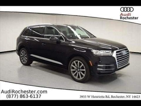 New 2019 Audi Q7 55 Premium With Navigation & AWD