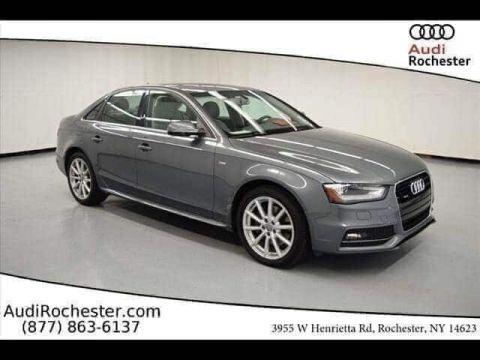 Pre-Owned 2015 Audi A4 2.0T Quattro Premium Plus Sedan