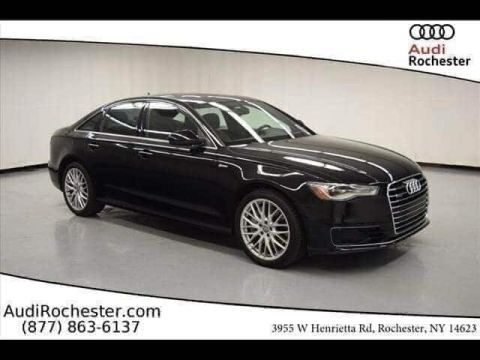 Certified Pre-Owned 2016 Audi A6 3.0T Premium Plus Sedan With Navigation & AWD