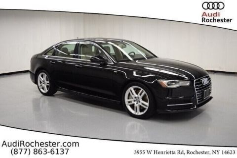 Certified Pre-Owned 2016 Audi A6 2.0T Quattro Premium Plus Sedan