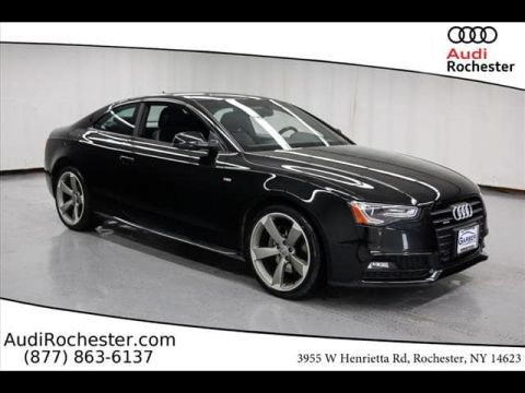 Pre-Owned 2016 Audi A5 2.0T Quattro Premium Plus