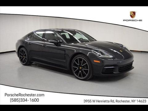 New 2019 Porsche Panamera 4 All Wheel Drive Sedan