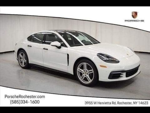 New 2018 Porsche Panamera 4 With Navigation & AWD