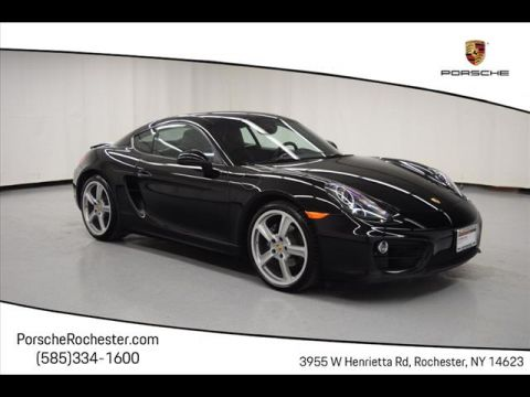 Certified Pre-Owned 2016 Porsche Cayman Base RWD 2dr Coupe