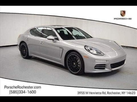 Certified Pre-Owned 2016 Porsche Panamera 4S With Navigation