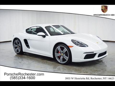 New 2018 Porsche 718 Cayman S RWD S 2dr Coupe