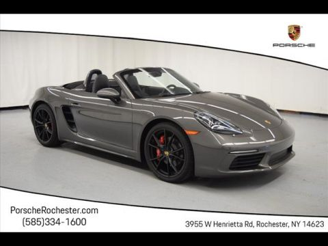 New 2018 Porsche 718 Boxster S RWD S 2dr Convertible