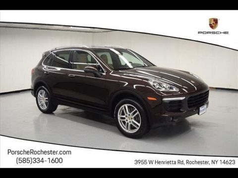 Certified Pre-Owned 2016 Porsche Cayenne With Navigation & AWD