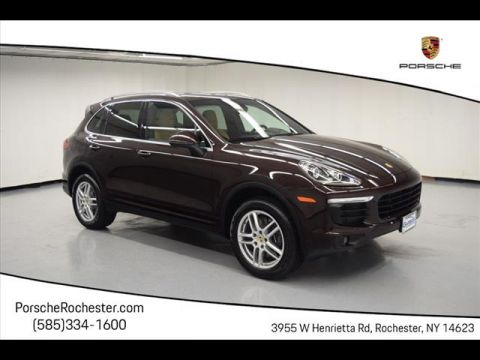 Certified Pre-Owned 2016 Porsche Cayenne Base AWD