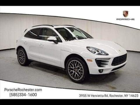 New 2018 Porsche Macan Sport Edition With Navigation & AWD