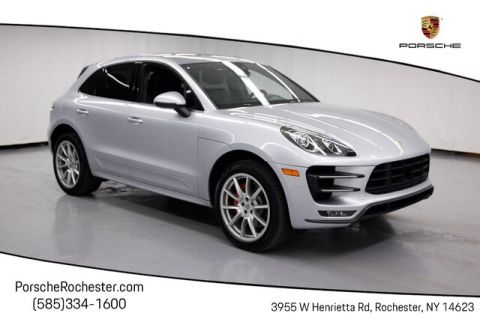 Certified Pre-Owned 2015 Porsche Macan Turbo With Navigation & AWD